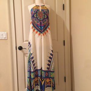 Multi colored size small maxi dress
