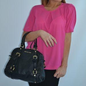 Fuchsia Pink Sleeved Blouse