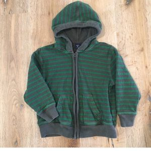 Gap Kids Striped Sweater Hoodie