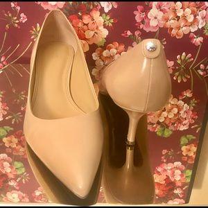 Michael Kors Shoes - MK Nude kitten heels