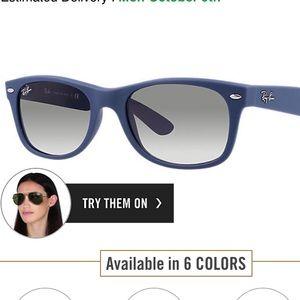 218121c0a7 Ray-Ban Accessories - Ray-ban New Wayfarer Sunglasses RB2132 811 32