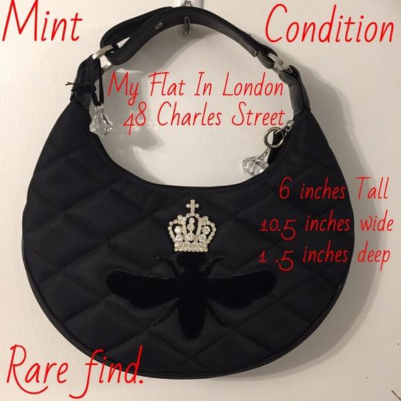 My Flat in London Bags   Rare Queen Bee Bag   Poshmark 6d5c28a820