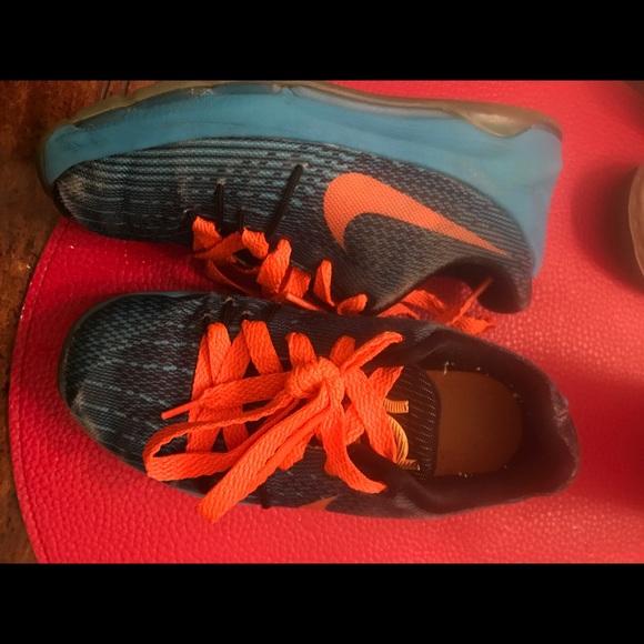 Nike Other - Nike Toddler kids Kd orange and blue