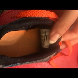 Nike Shoes - Nike Toddler kids Kd orange and blue