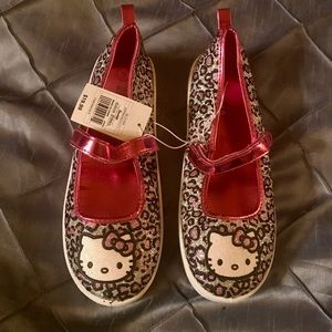 NEW Hello Kitty Shoes Sneakers Girls Size 5