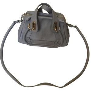 Chloe small Paraty satchel (Motty grey)