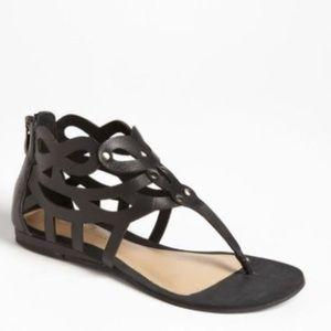 Sole Society Kinsley Sandal in Black