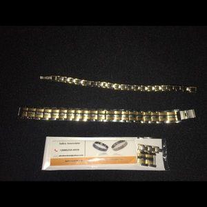 Jewelry - 🔶🔶MAKE ME AN OFFER!!!  magnet bracelets (SET)