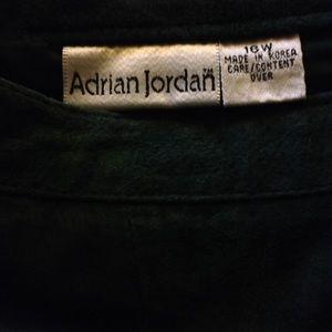 Adrian Jordan Skirts - Adrian Jordan Suede Skirt