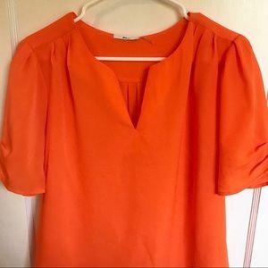 Milano - Orange Blouse - L