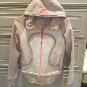 Lululemon fleece lined workout jacket.