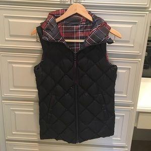 Lululemon reversible down vest.