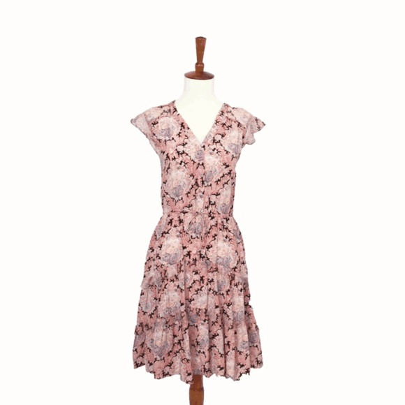 Anthropologie Dresses & Skirts - Anthropologie Floral Layered Dress
