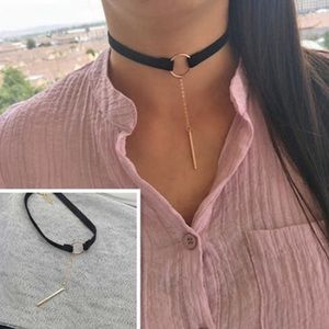 Jewelry - New fashion quality choker --suede style