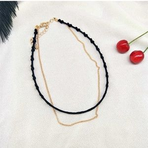 Jewelry - New high quality double wrap chain choker