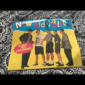 Other - New Kids on the Block 1991 calendar