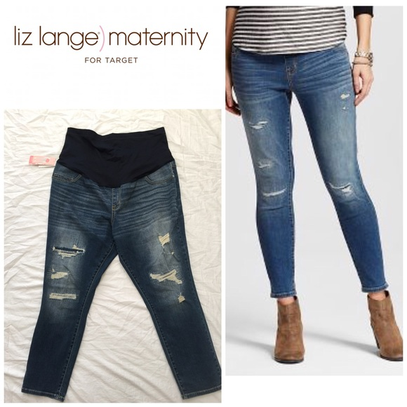 16b3f88d58709 🚨Final Sale🚨 Liz Lange Maternity Jeans 👖