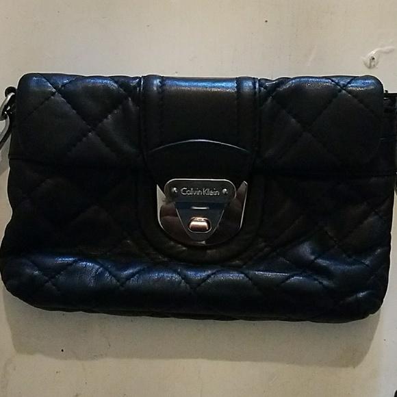 63% off Calvin Klein Handbags - Calvin Klein Quilted Clutch Purse ... : calvin klein quilted purse - Adamdwight.com