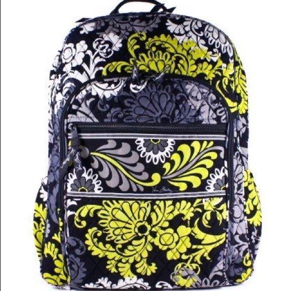 19e524f8cd6e Vera Bradley Campus Backpack Baroque. M 59d6548e291a35ce08022e24