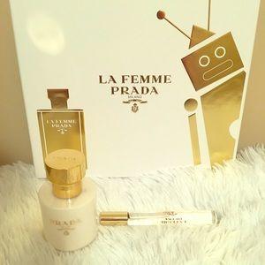 La Femme Prada Parfum and Rollerball