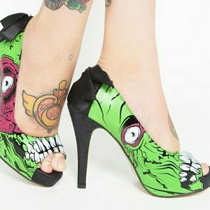 Iron Fist Zombie Stomper Heels