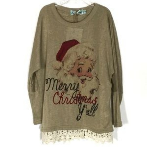 girls christmas southern grace boutique tunic