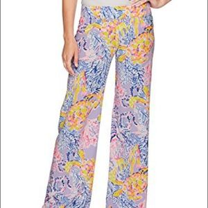 Lilly Pulitzer So Snappy Bal Harbour Palazzo Pant