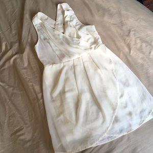 Dresses & Skirts - White Cross Back Dress