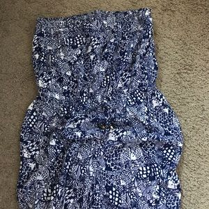 Lilly Pulitzer for Target Strapless Jumper Sz XXL