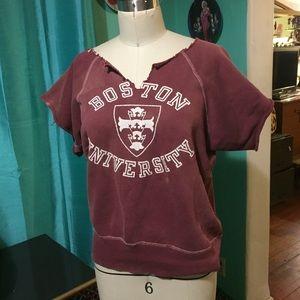 Tops - Vintage Boston university college sweatshirt