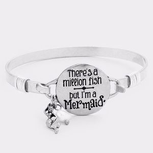 There's a Million Fish but I'm a Mermaid Bracelet