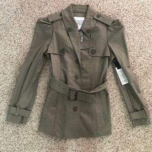 NWT BB Dakota small green coat jacket