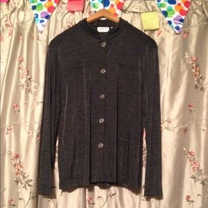 ⚫️Chico's Long Sleeve Button Down Top