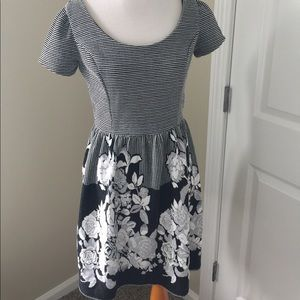 Winter knitted dress