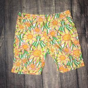 Lilly Pulitzer size 10 Bermuda shorts