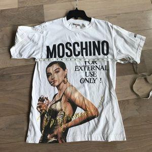 2fee089d0ef47 Moschino Tops | Rare Vintage Parfums Womens T Shirt Xl | Poshmark