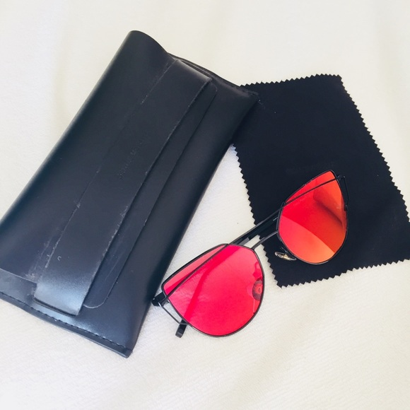 2eed381b659 Gentle Monster Accessories - Gentle Monster Pink Love Punch Sunglasses