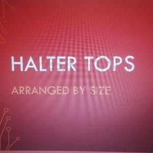 Halter tops
