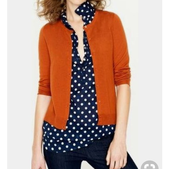 e8133e3e3f Banana Republic Sweaters - Orange Banana Republic cardigan