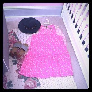 H&M Racerback Semi-sheer Dress