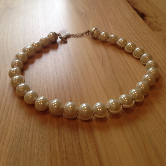 Lia Sophia Jewelry | Lia Sofia Bubble Bath Leather Pearl Necklace ...