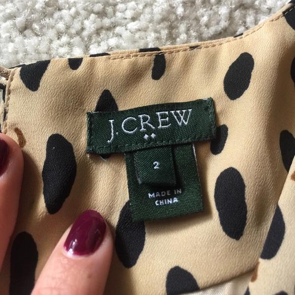 J. Crew Dresses - J.Crew Leopard Shift Dress