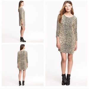 J.Crew Leopard Shift Dress