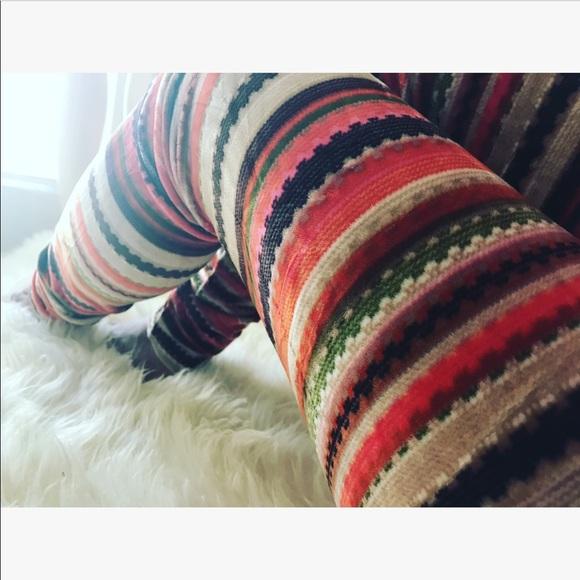 Multicolored Tribal Print Legging