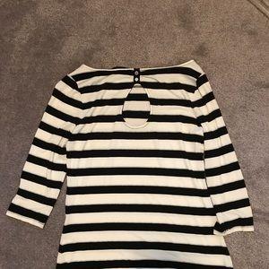White House Black Market Tops - White House black market striped top size m