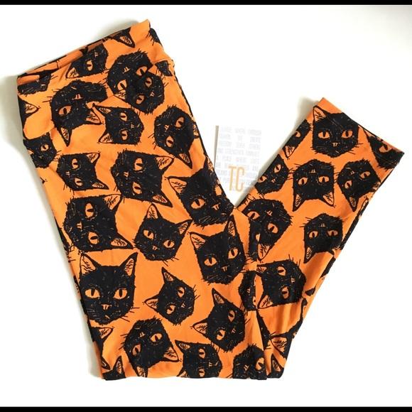 LuLaRoe Other - 🍂In🍁Lularoe Halloween Cats TC NWT