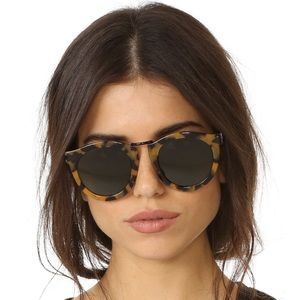 Karen walker crazy tortoise sunglasses