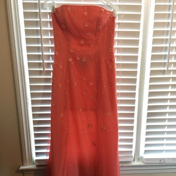 Coral Pink Prom Dress | Poshmark