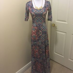 LLR Paisley Ana Maxi Dress