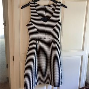 Boden Dresses Vintage Ponte Stripe Dress Poshmark